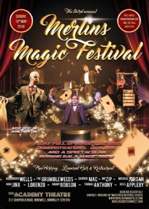Merlins Magic Festival - Sun 13th May 2018